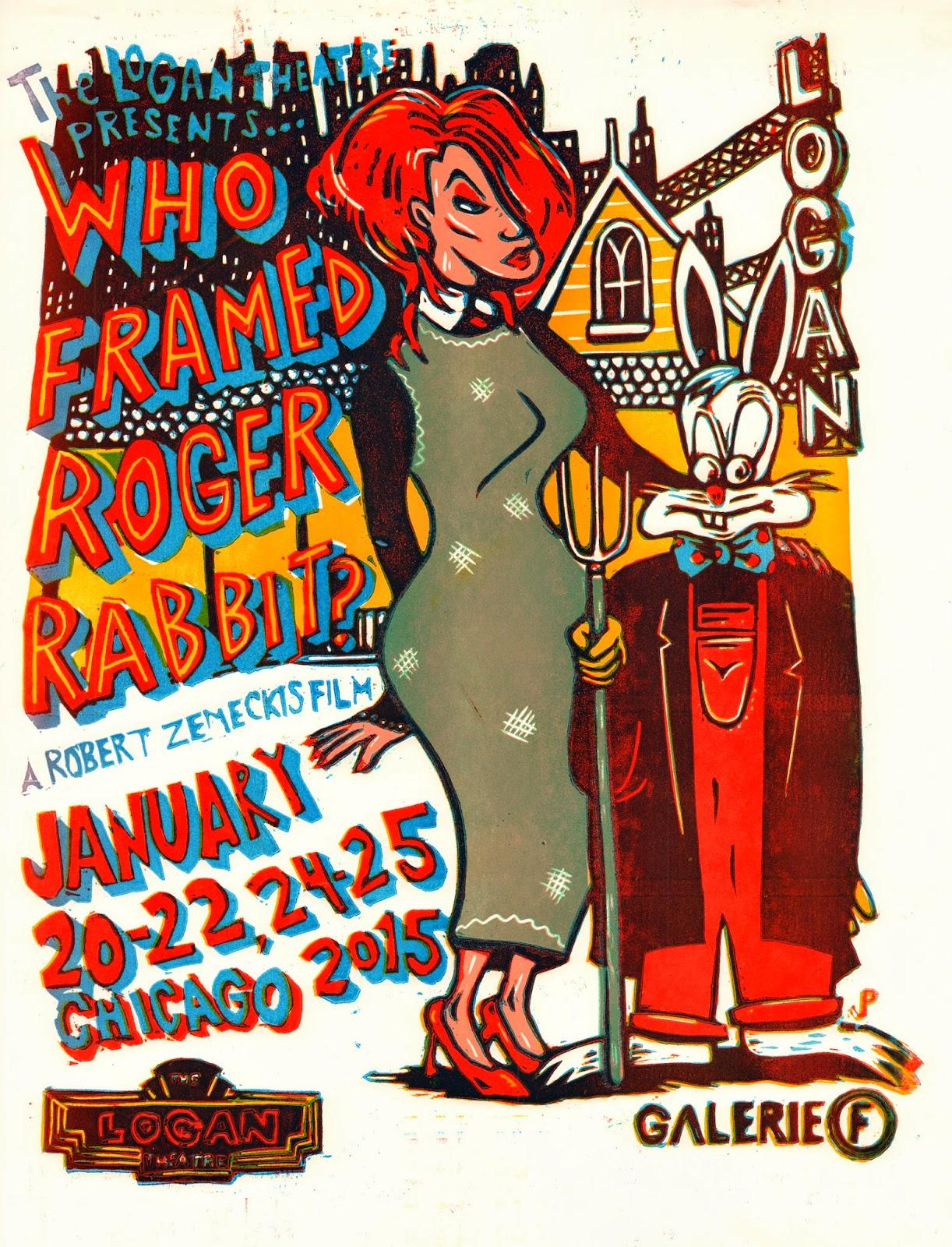 Jim-POLLOCK-Who-Framed-Roger-Rabbit-Poster